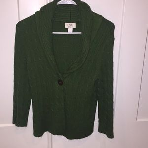 Ann Taylor Sweaters - Like new Ann Taylor, 3/4 sleeve cropped cardigan